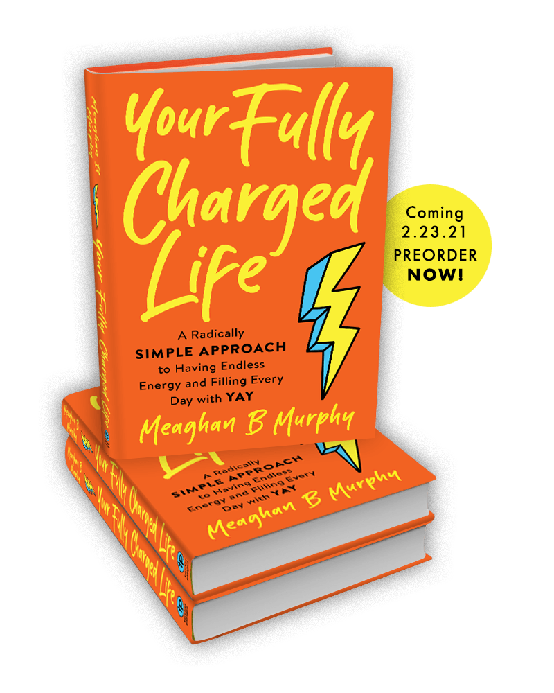 Meaghan B Murphy Your Fully Charged Life Book